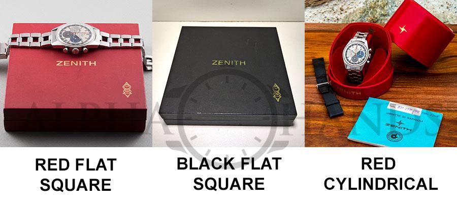 Zenith A386 boxes