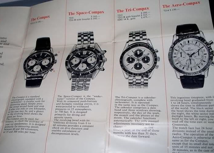 Universal Geneve Clapton Catalog Page
