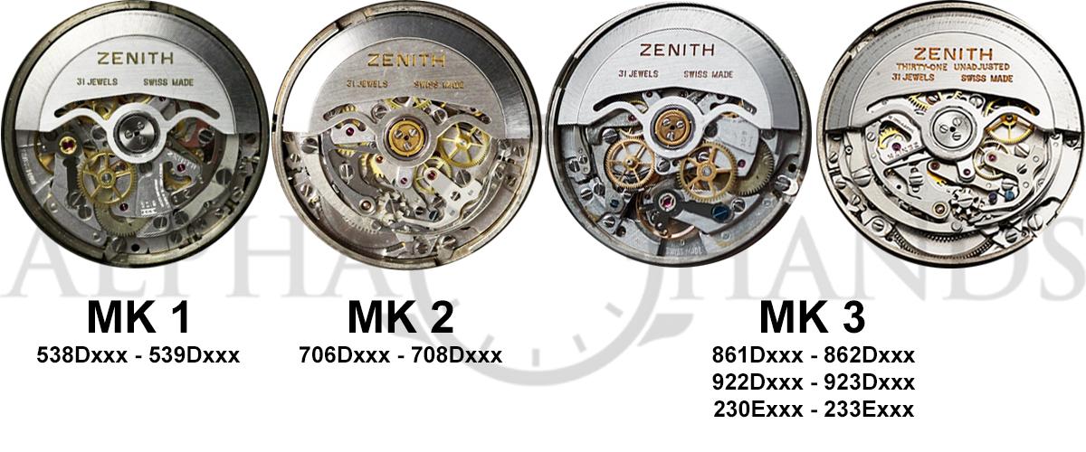 Zenith A386 Rotors